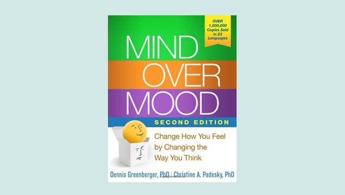 Mind Over Mood Makes List of Best Self Improvement Books